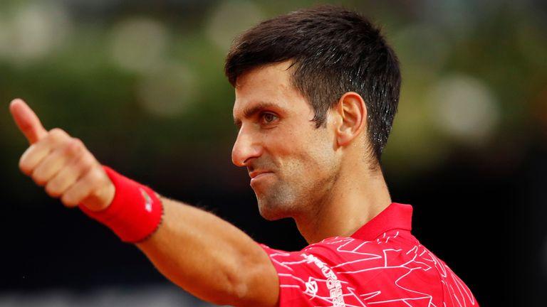 Novak Djokovic Wins Italian Open In Rome For Fifth Time Ahead Of French Open Tennis News Sky Sports
