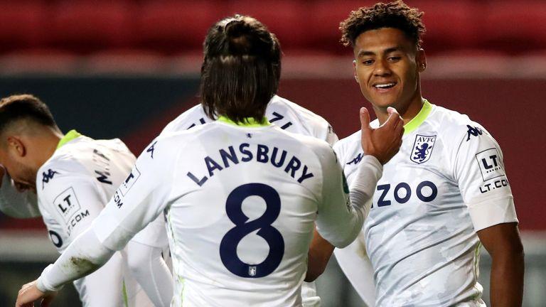Ollie Watkins was also on target in Aston Villa's win