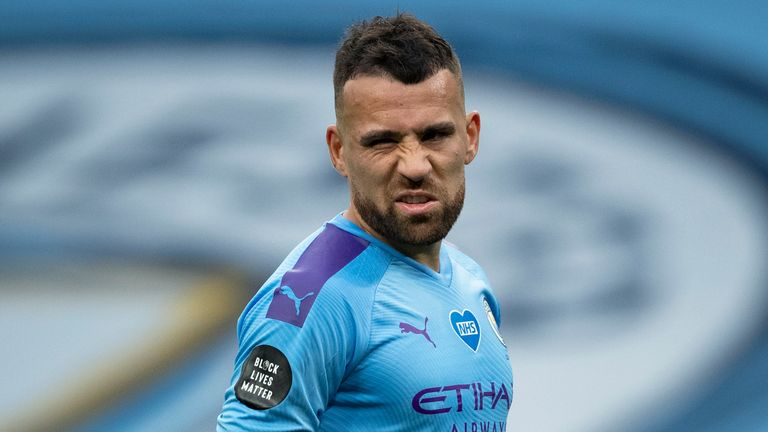 Nicolas Otamendi has yet to feature for City this season