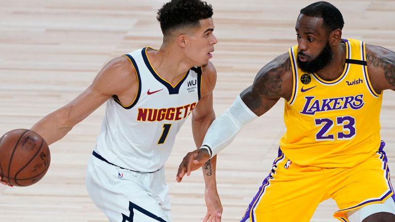 LA Lakers and Denver Nuggets