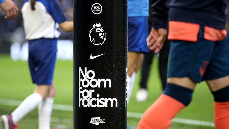 No Room for Racism plinth