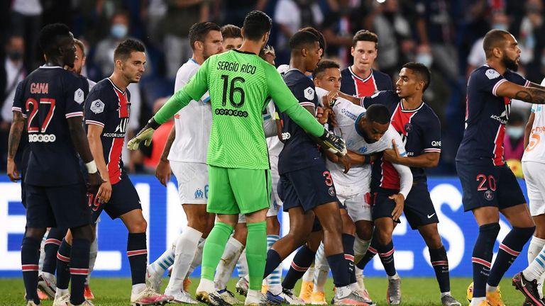 PSG Marseille scrap