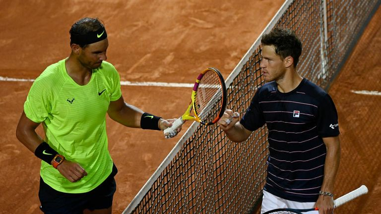 Rafael Nadal Vows To Keep Working After Shock Loss In Rome Tennis News Sky Sports