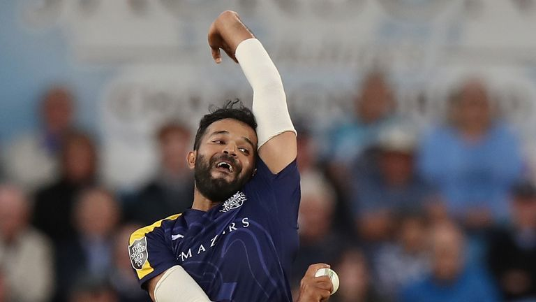 Rafiq spent 10 seasons at Yorkshire in two spells before leaving in 2018