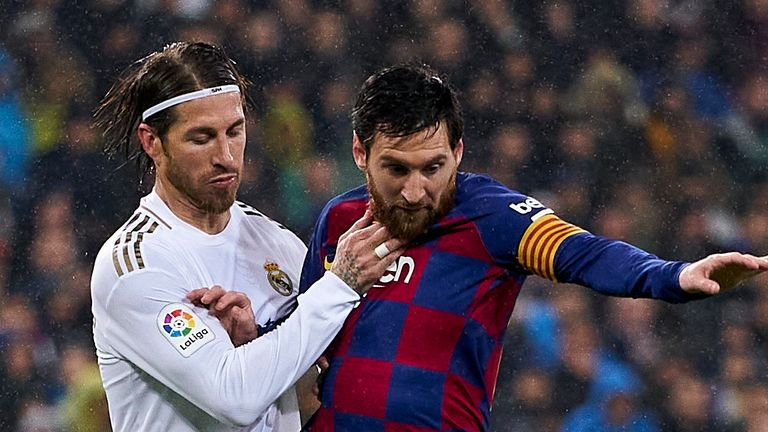 Sergio Ramos thinks Lionel Messi has earned the right to choose his future but questioned the Barcelona star's approach