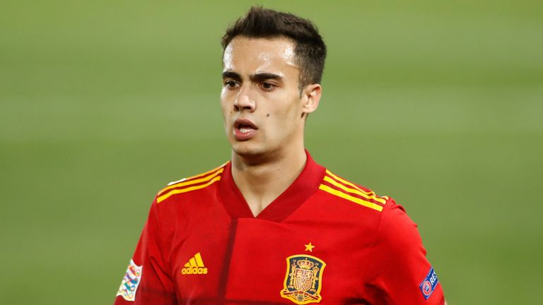 Reguilon made his Spain debut in the win over Ukraine this month