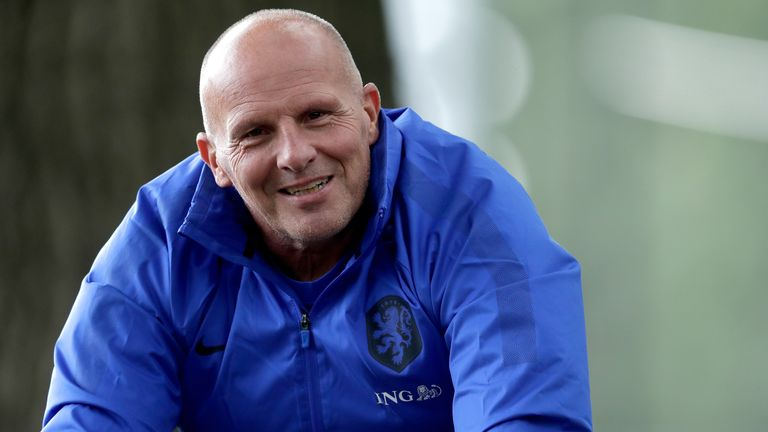 KNVB strength and conditioning coach Rene Wormhoudt