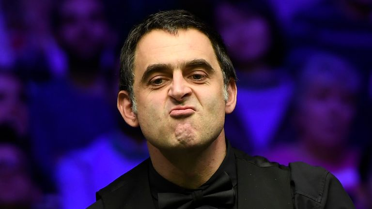 Ronnie O'Sullivan is out of the European Masters