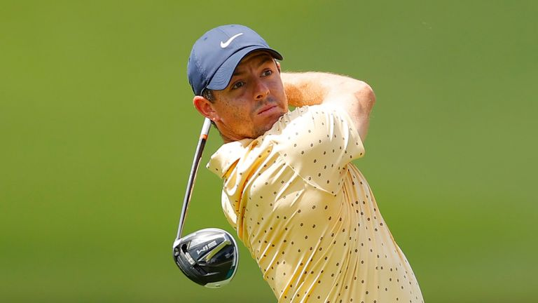Rory McIlroy opened with a 64 despite having little practice beforehand