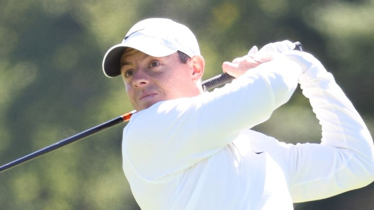 Rory McIlroy vaulted back into contention, and is six back after 54 holes