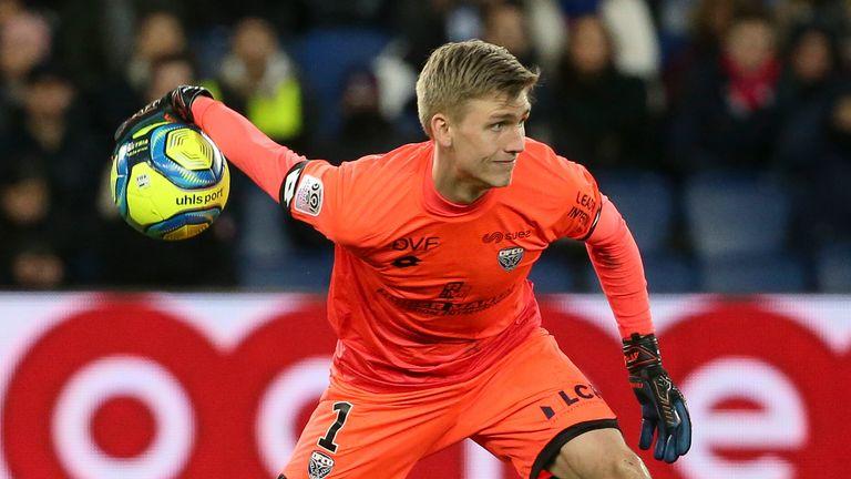 Runar Alex Runarsson made 12 appearances for Dijon last season