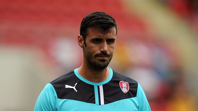 ROTHERHAM, ENGLAND - JULY 20: Scott Shearer during the pre season friendly match between Rotherham United and Huddersfield Town at The New York Stadium on July 20, 2013 in Rotherham, England. (Photo by Chris Brunskill/Getty Images) *** Local caption ***