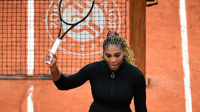 The 23-time Grand Slam champion will take no further part in the tournament