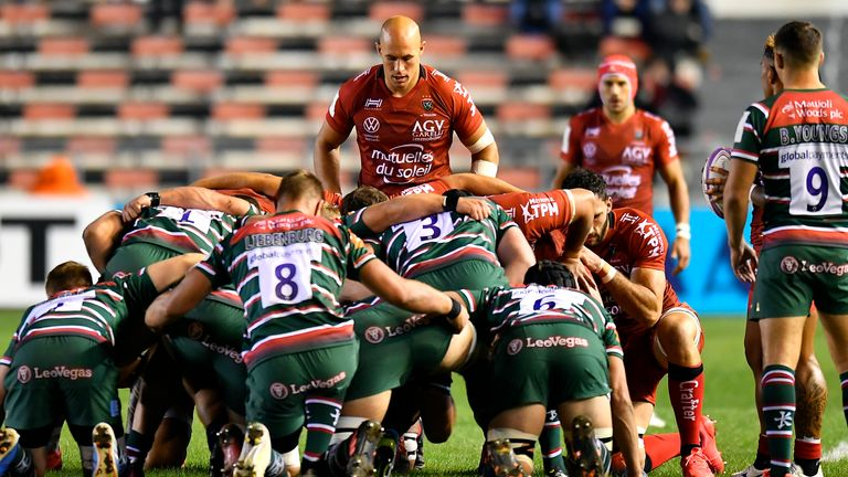 Parisse is in his second season with Toulon