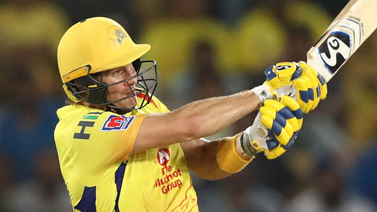 Shane Watson's half-century came in vain as CSK slumped to a fourth defeat in six games