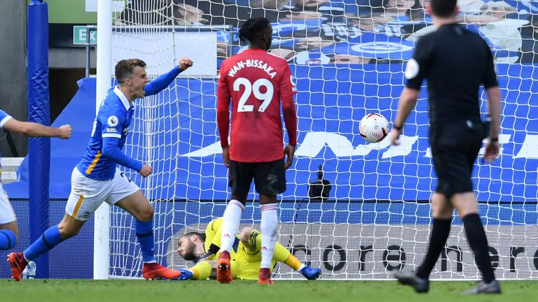 Solly March equalises in stoppage-time
