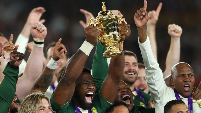 The Springboks won the World Cup for the third time in Japan 2019