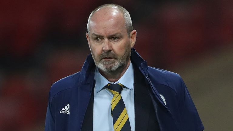 Steve Clarke opted to play with three centre-backs against Czech Republic