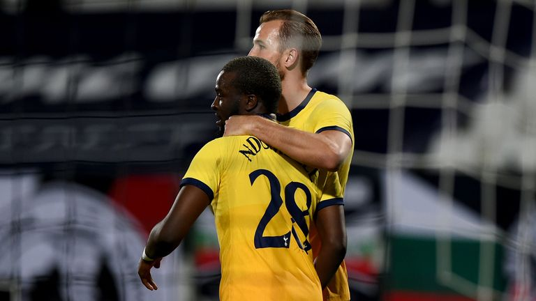 Tanguy Ndombele sealed Spurs' late Europa League win at Lokomotiv Plovdiv