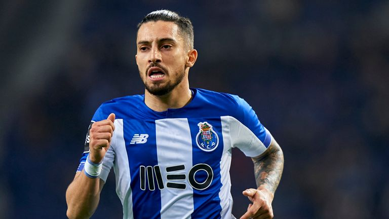 Alex Telles has been linked with Chelsea and Man Utd in this window