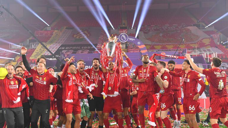 Liverpool won the Premier League title with 99 points last season