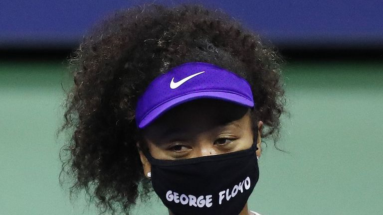 Caroline Wozniacki is proud of how Naomi Osaka has used her social media platform to support the Black Lives Matter movement