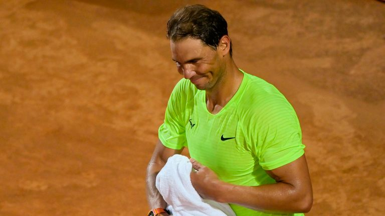 The world No 2 suffered a shock defeat at the Italian Open