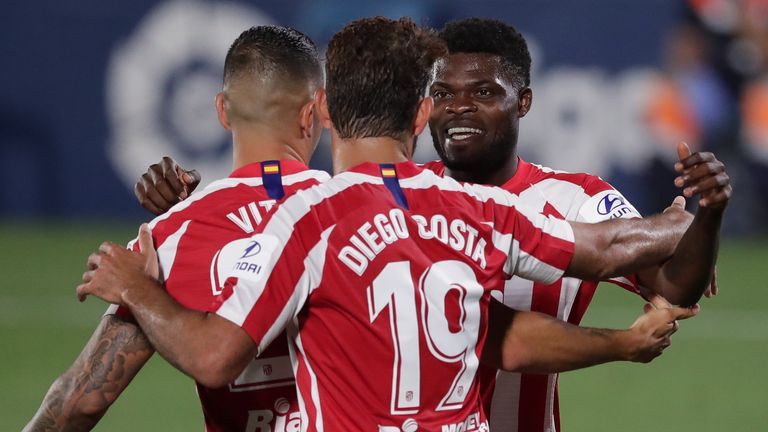 Partey is a popular figure in the Atletico Madrid squad