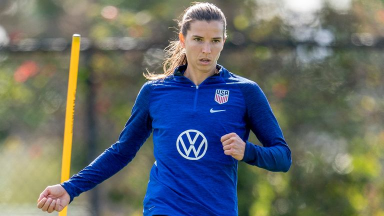 Tobin Heath has joined Manchester United