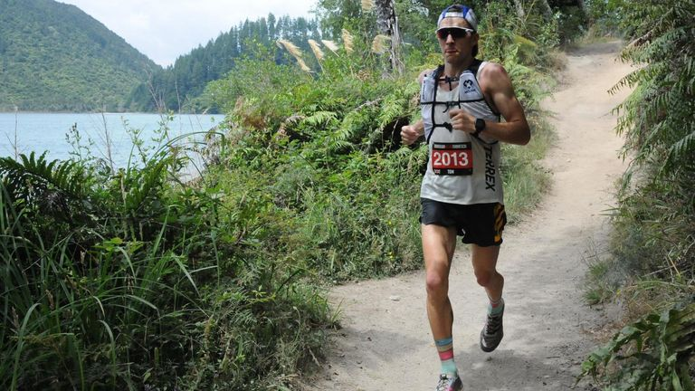 Evans has been competing as an ultra-runner for three years