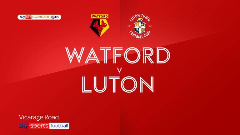 Watford v Luton
