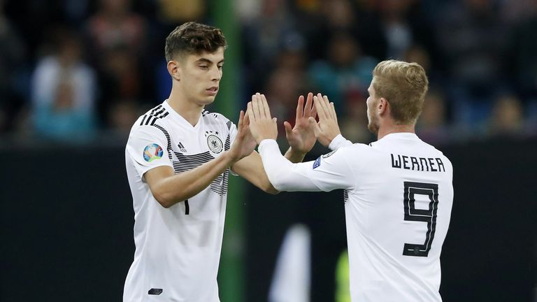 Kai Havertz and Timo Werner