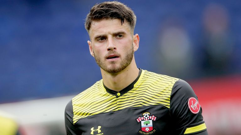 Wesley Hoedt of Southampton during the Club Friendly match between Feyenoord v Southampton at the Stadium Feijenoord on July 28, 2019 in Rotterdam Netherlands (