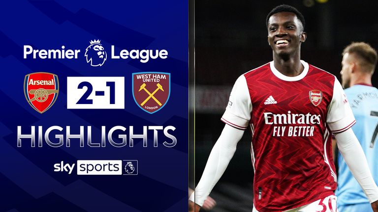 FREE TO WATCH: Highlights from Arsenal's win over West Ham