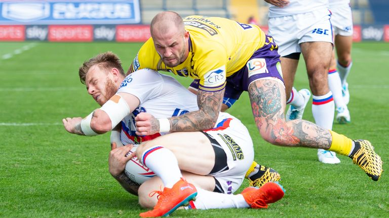 Zak Hardaker has embraced Wigan's focus on defence in 2020