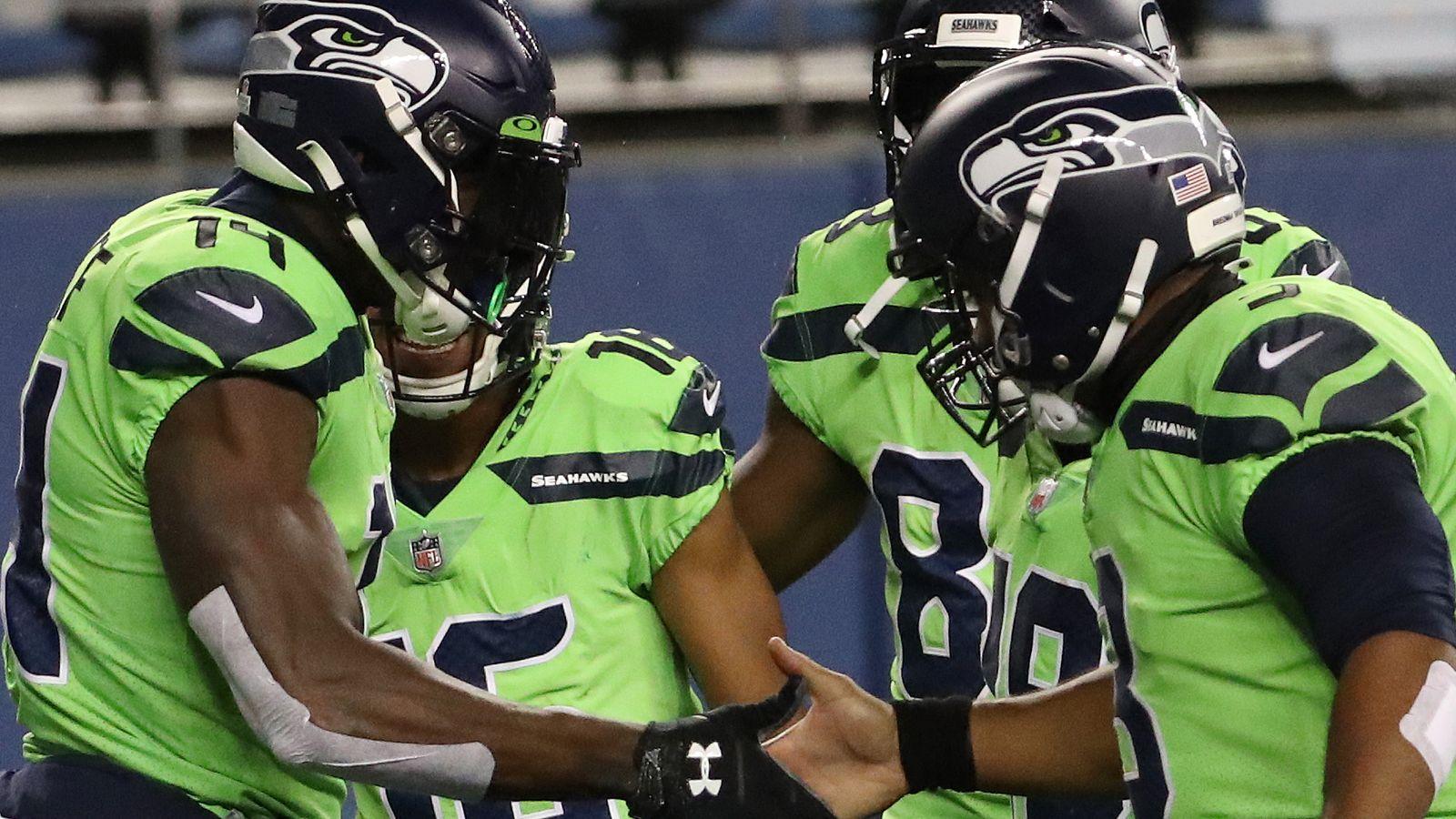 Minnesota Vikings 26 27 Seattle Seahawks Russell Wilson And D K Metcalf Star In Hawks Comeback Win Nfl News Sky Sports