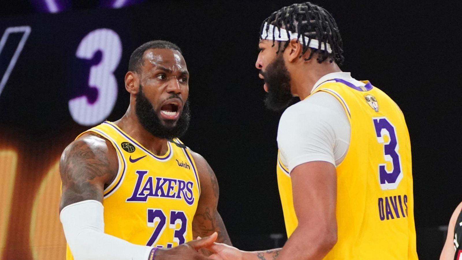 NBA Finals 2020: LeBron James and Anthony Davis sublimate ...