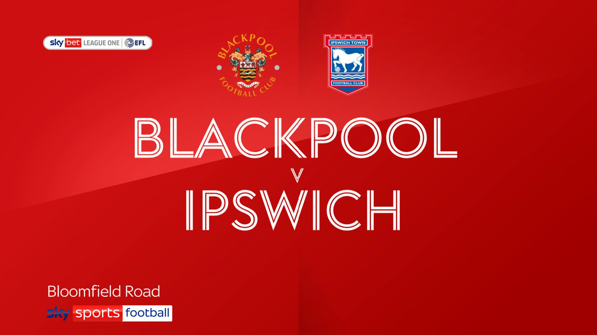 Ipswich thump Blackpool to go top