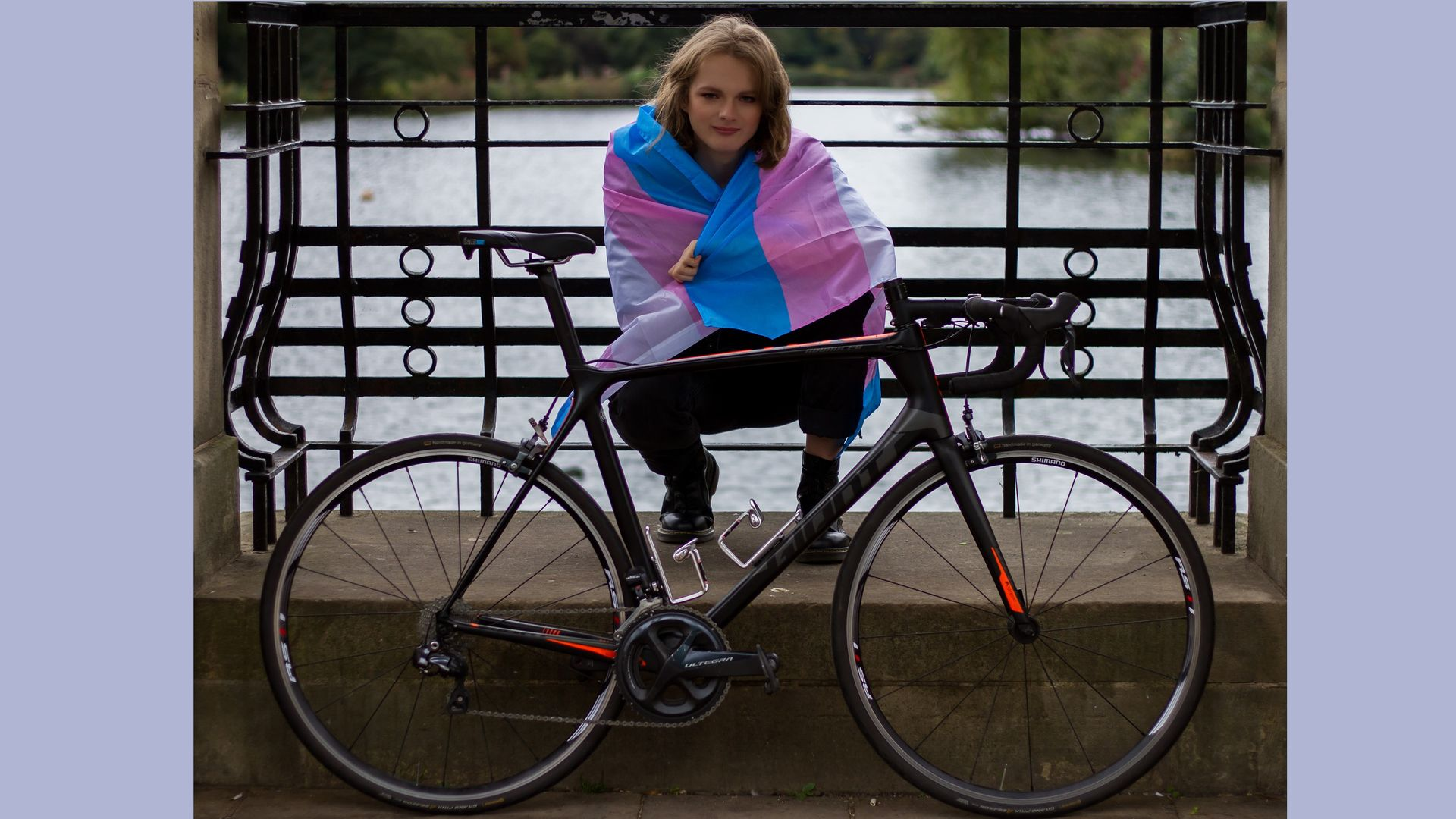 'It's the right time for me to come out as trans in cycling'