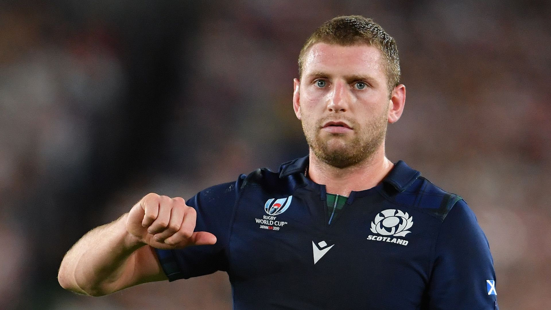 Russell on the bench for Scotland vs Georgia