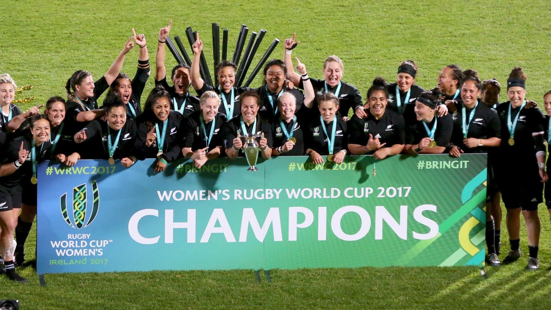 England among top seeds for Women's RWC