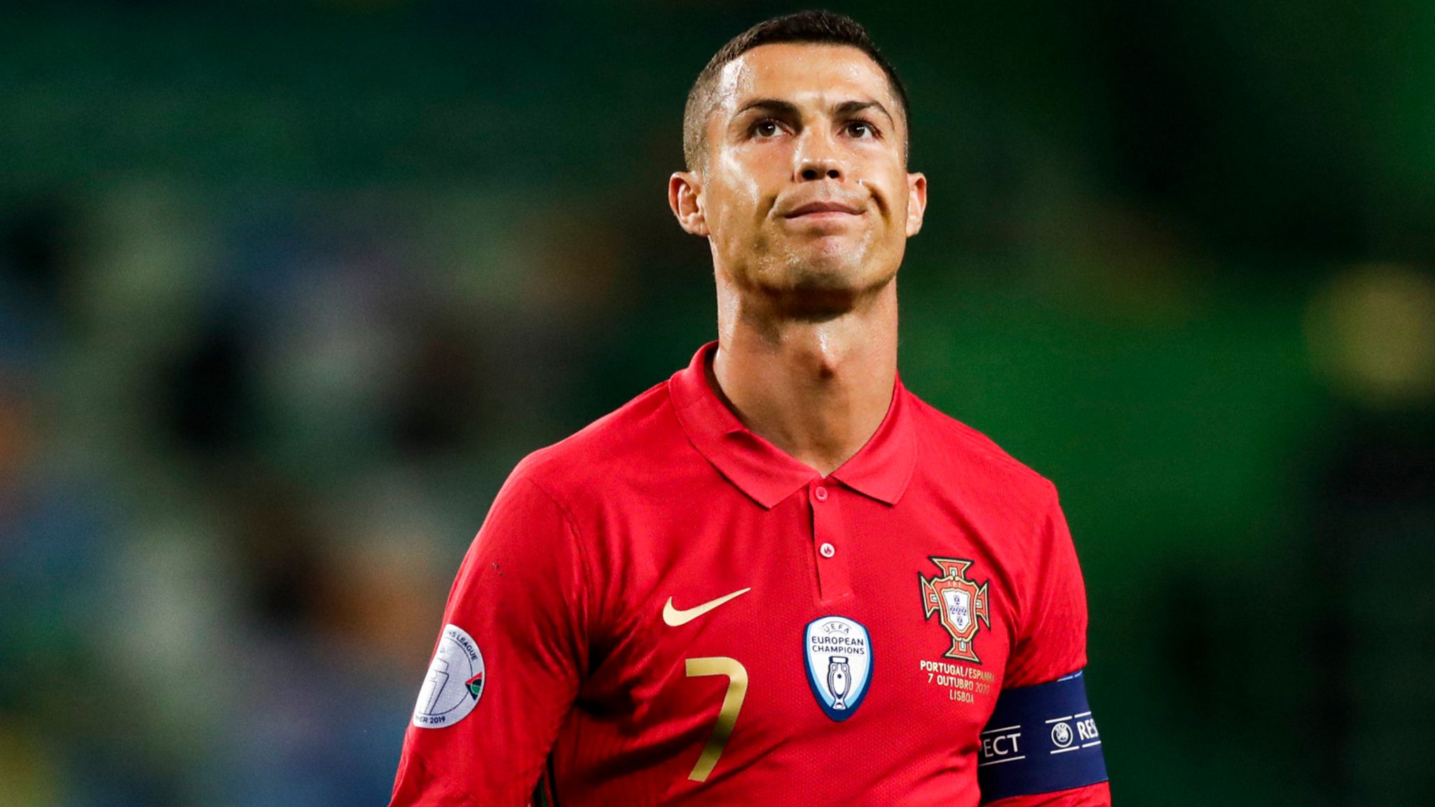 Cristiano Ronaldo Portugal And Juventus Star Tests Positive For Coronavirus Football News Sky Sports