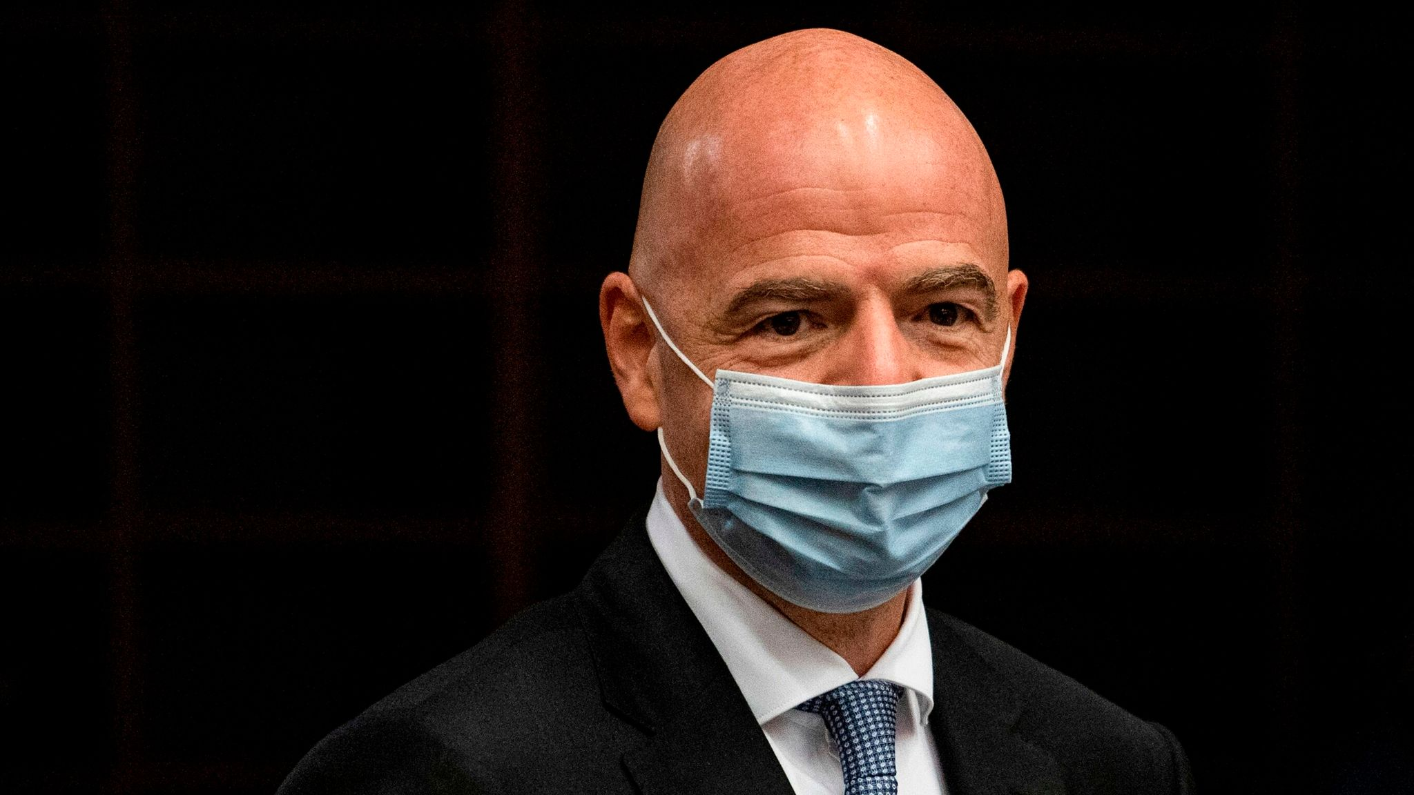 FIFA president Gianni Infantino tests positive for COVID-19 | Football News  | Sky Sports
