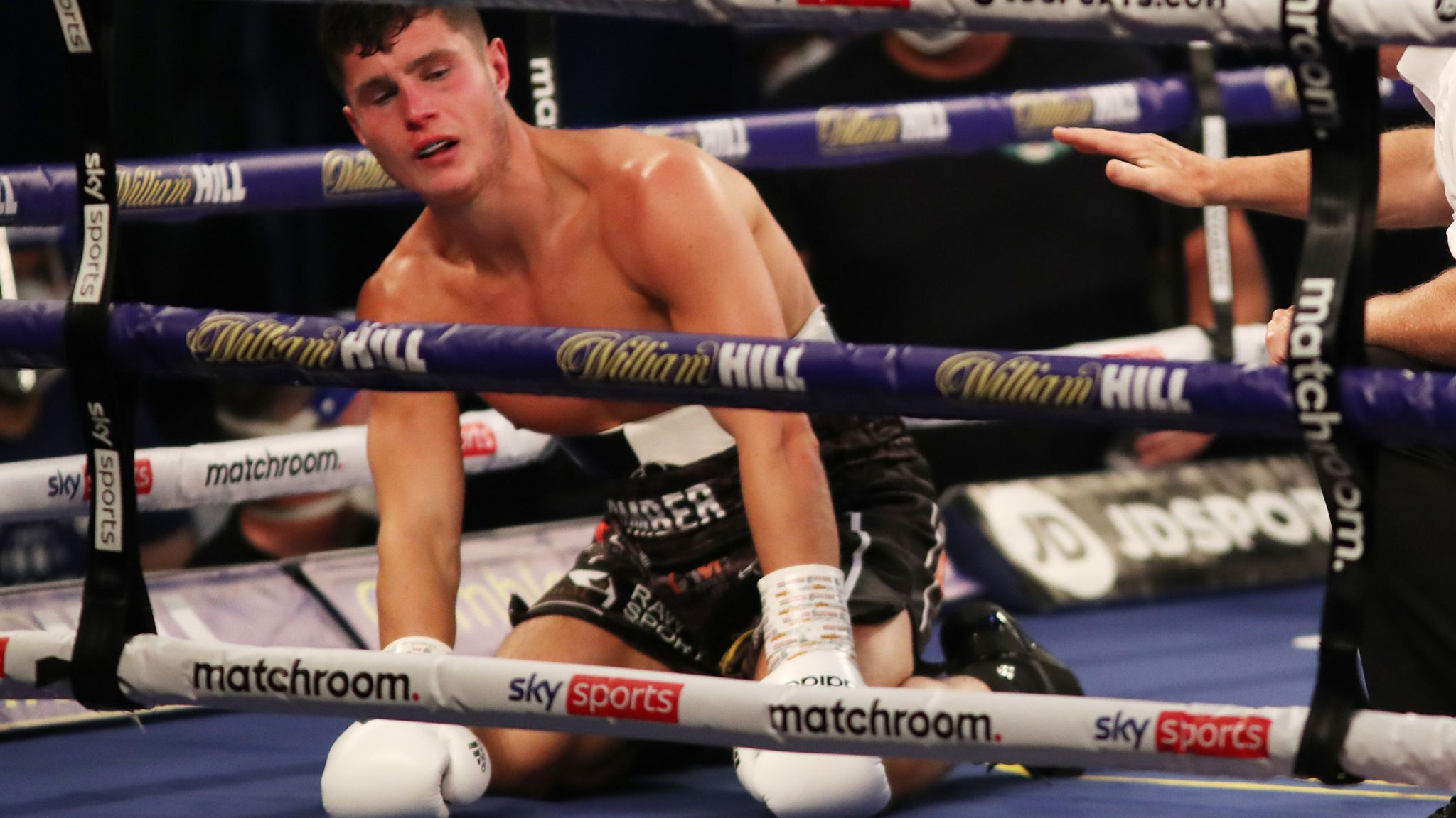 Ritson Vs Vazquez: Joe Laws Knocked Down Three Times And Stopped By Rylan Charlton | Boxing News | Sky Sports