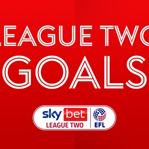Watch League Two goals and highlights