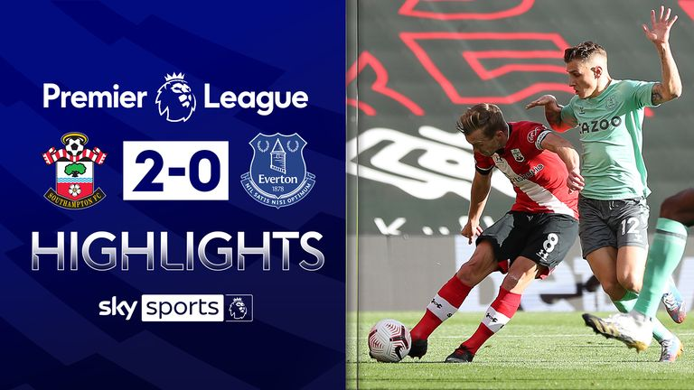 FREE TO WATCH: Highlights from Southampton's win over Everton