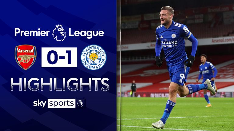 FREE TO WATCH: Highlights from Leicester's win against Arsenal in the Premier League.