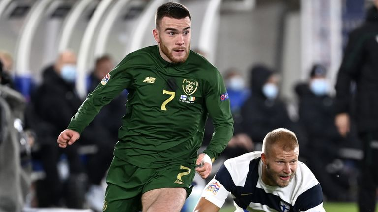 Aaron Connolly did well for the Republic of Ireland but could not break their goal drought