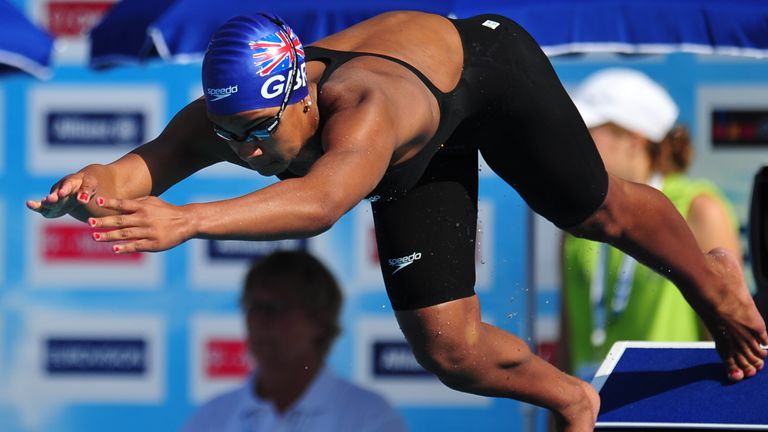 Rebecca was the world's top 50m swimmer at the age of 15