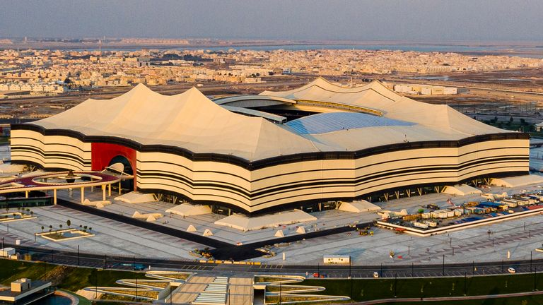 The Al Bayt Stadium will host the opening match of World Cup on Nov 21 2022